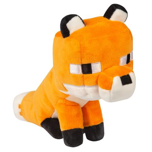 MINECRAFT - Peluche Happy Explorer - Fox - 14cm