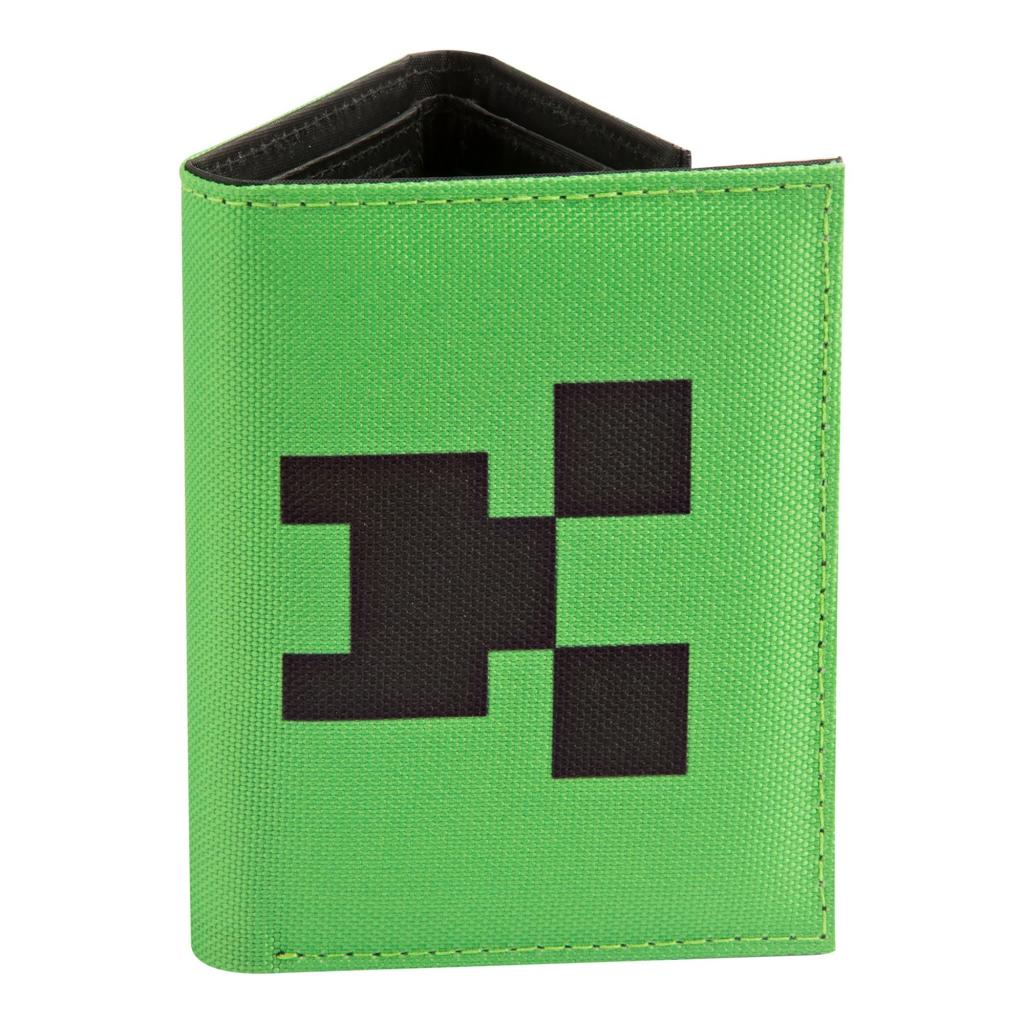 MINECRAFT - Pocket Creeper Tri-fold Wallet