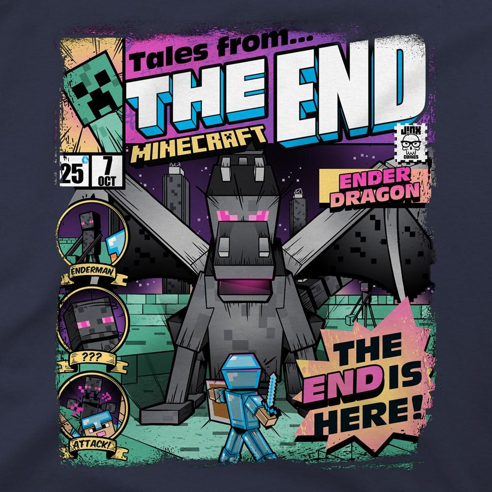 MINECRAFT - T-Shirt KIDS - Tales From the End (S)_2