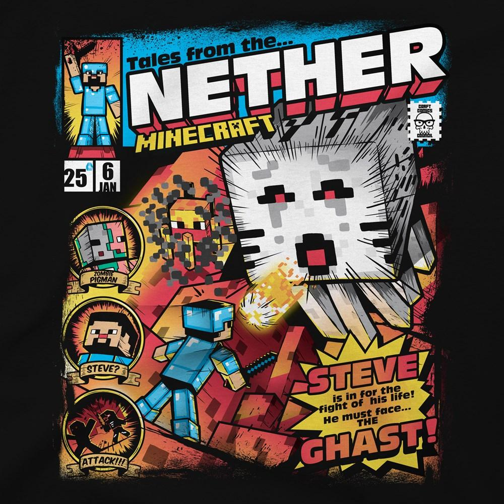 MINECRAFT - T-Shirt KIDS - Tales From the Nether (XS)_2