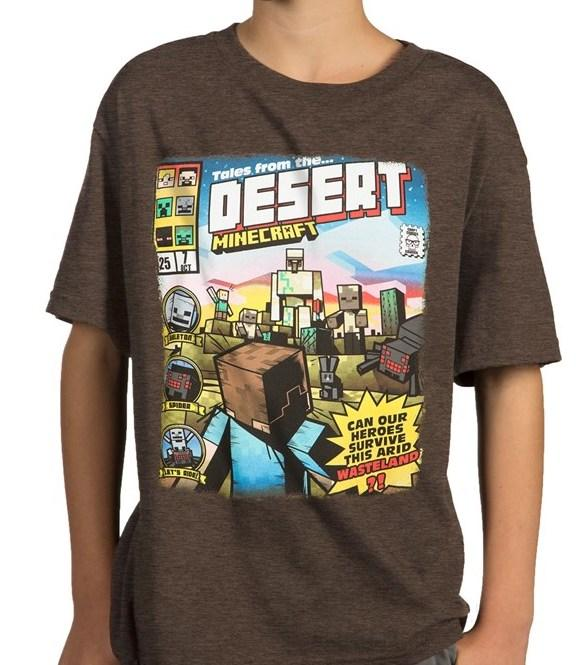 MINECRAFT - T-Shirt KIDS - Tales From the Desert (XS)