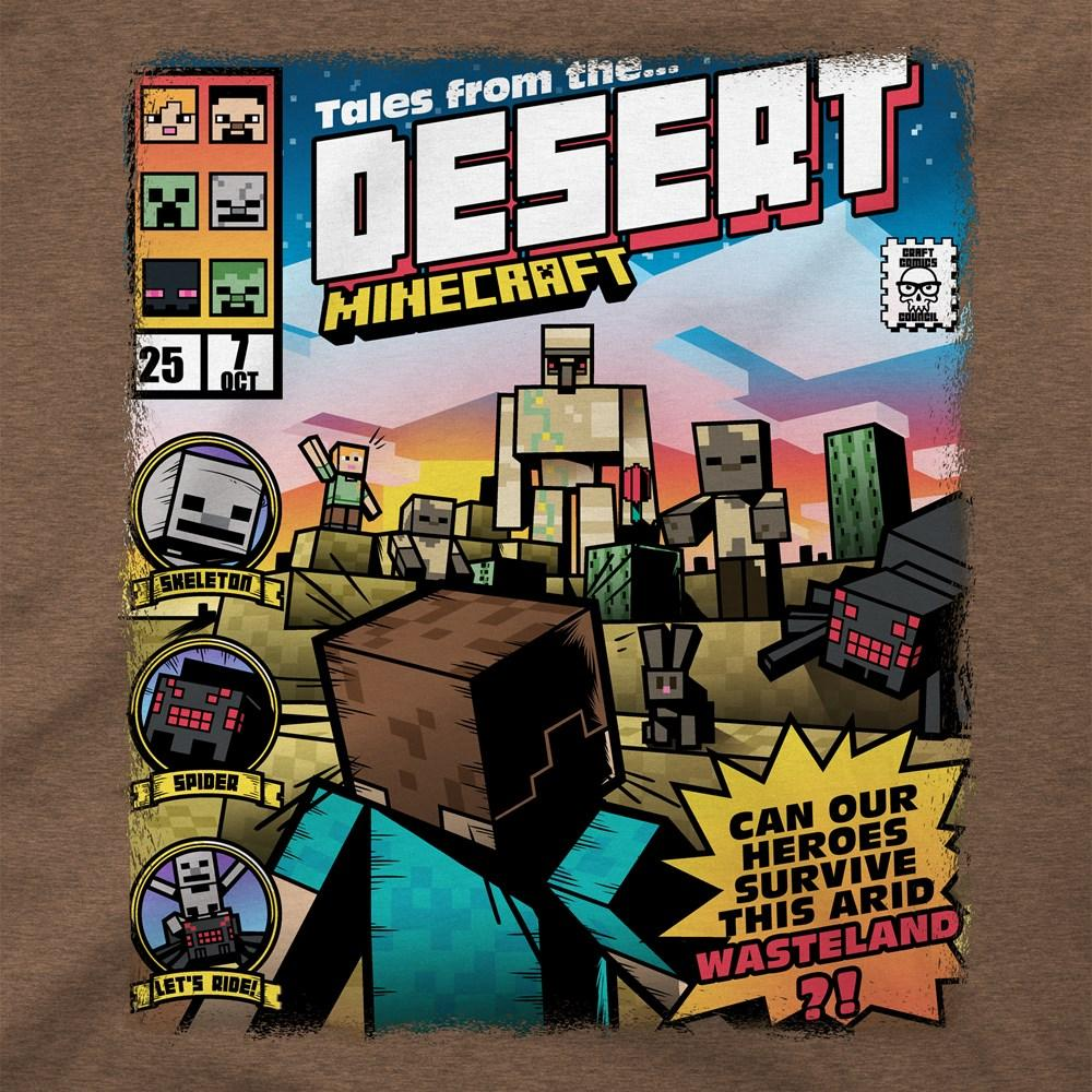 MINECRAFT - T-Shirt KIDS - Tales From the Desert (XS)_2