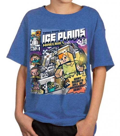 MINECRAFT - T-Shirt KIDS - Tales from the Ice Plains (S)_2