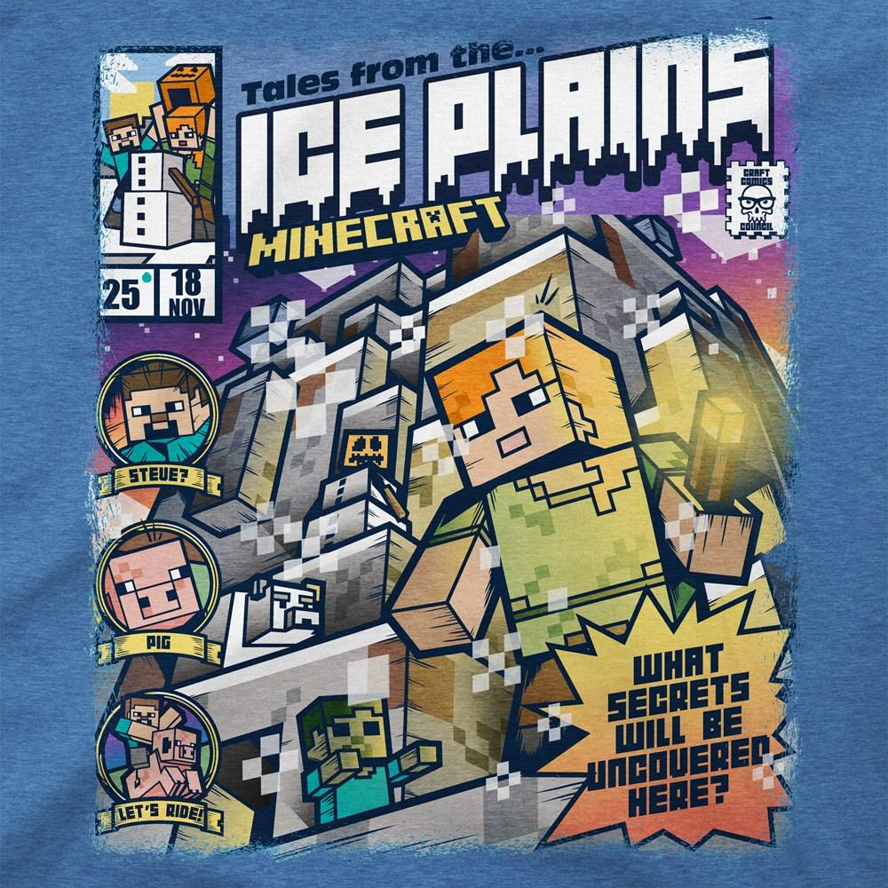 MINECRAFT - T-Shirt KIDS - Tales from the Ice Plains (XS)_2