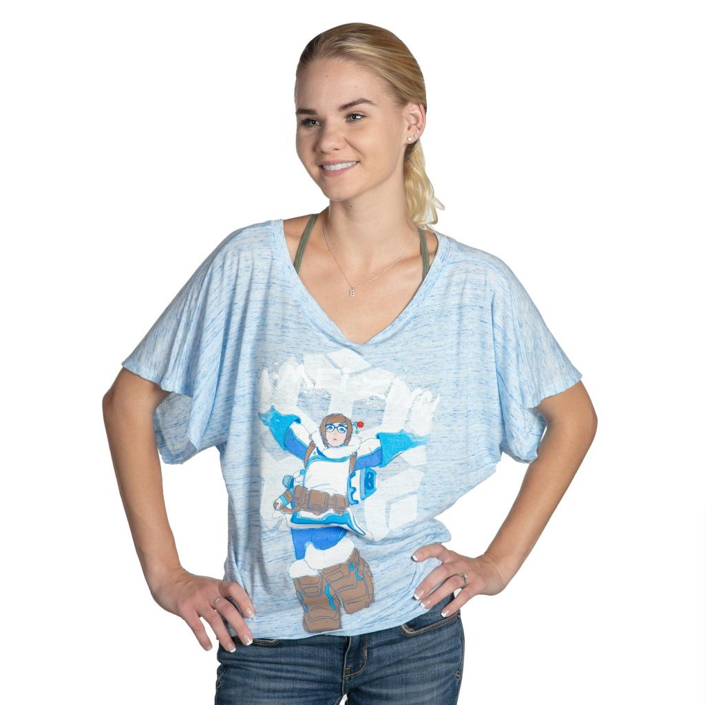 OVERWATCH - T-Shirt GIRL - A-Mai-Zing Doman Tee (S)
