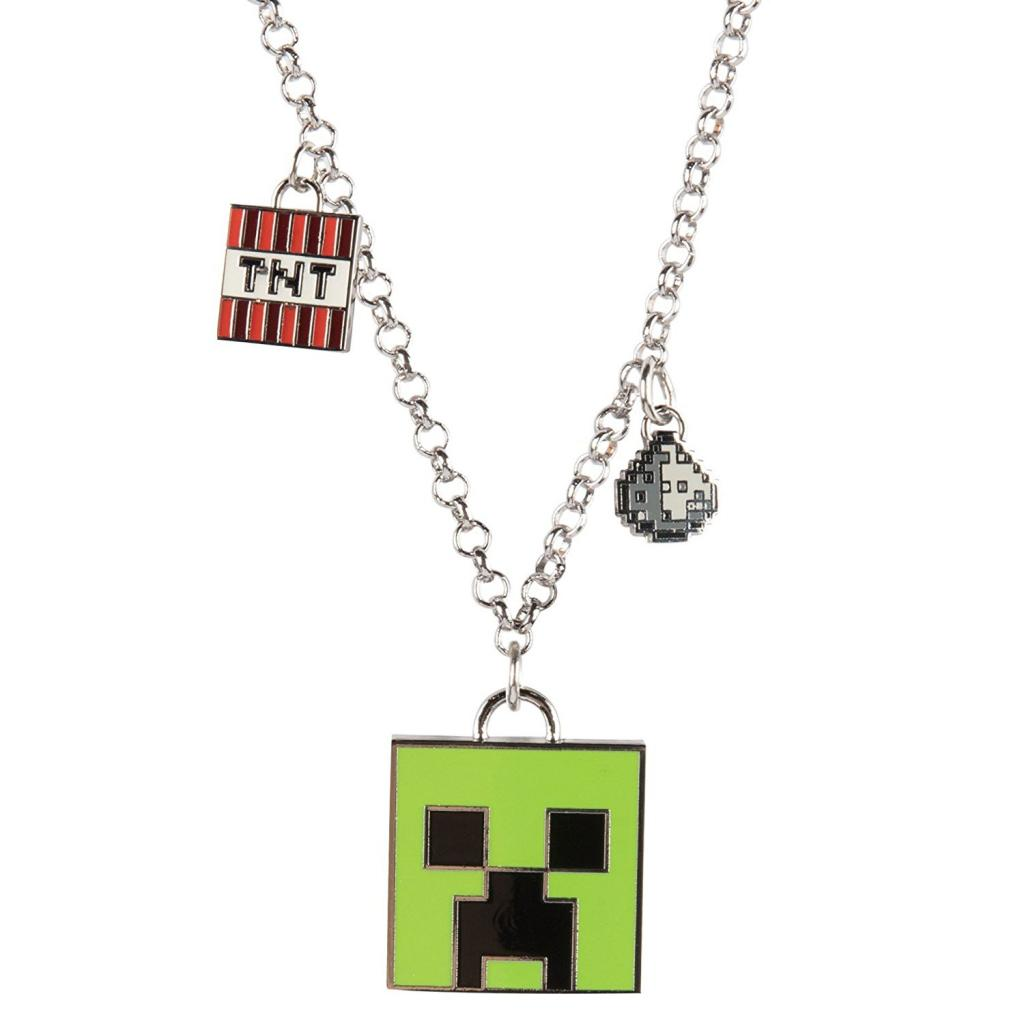 MINECRAFT - Enchanted Creeper Necklace