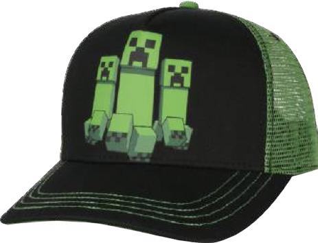 MINECRAFT - Casquette Creeper Rush