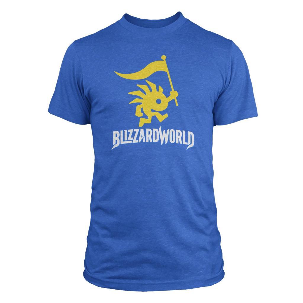 BLIZZARD WORLD - T-Shirt Logo (S)