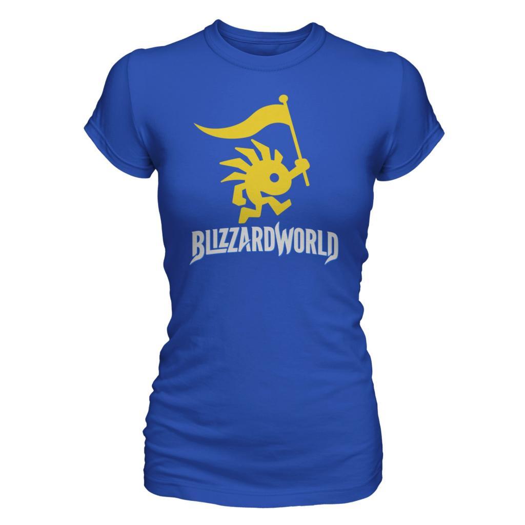 BLIZZARD WORLD - T-Shirt GIRL - Logo (S)