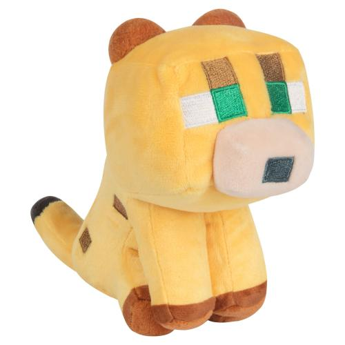 MINECRAFT - Peluche Happy Explorer - Baby Ocelot - 14cm