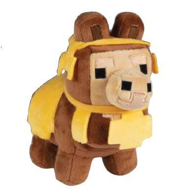 MINECRAFT - Peluche Happy Explorer - Baby Llama Brown - 16cm