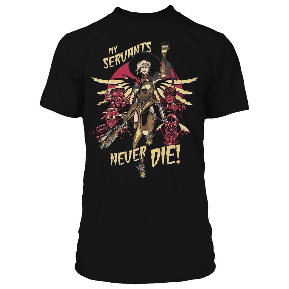 OVERWATCH - T-Shirt MERCY Witch (S)