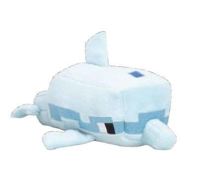 MINECRAFT - Peluche Happy Explorer - Dolphin - 18cm
