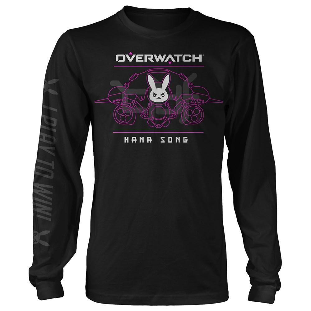 OVERWATCH - Battle Meka D.VA Long Sleeve Tee (S)