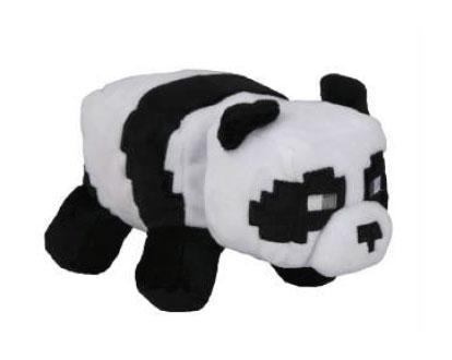 MINECRAFT - Peluche Happy Explorer - Panda - 18cm