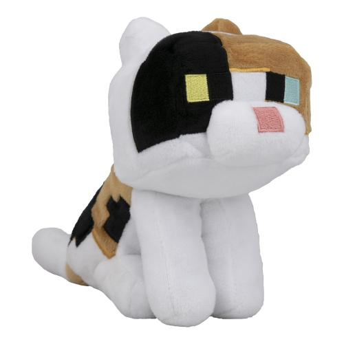 MINECRAFT - Peluche Happy Explorer - Calicot Cat - 18cm