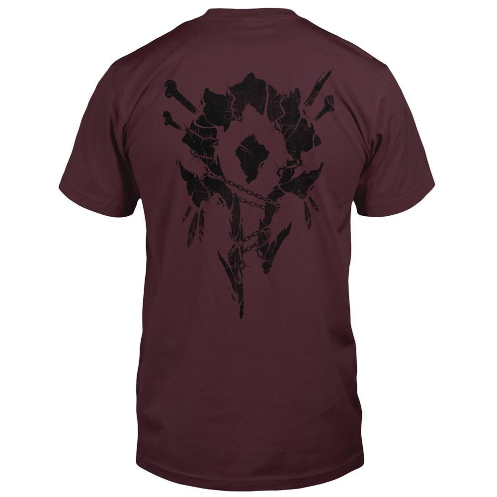 WORLD OF WARCRAFT- T-Shirt Horde Bones Crest (S)