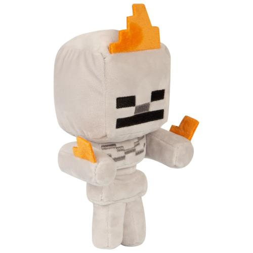 MINECRAFT - Peluche Happy Explorer - Skeleton on Fire - 18cm