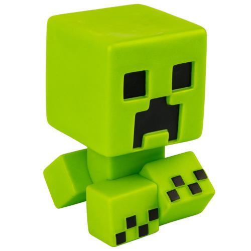MINECRAFT - Peluche Creeper Mega Bobble Mob - Glow in the dark - 13cm