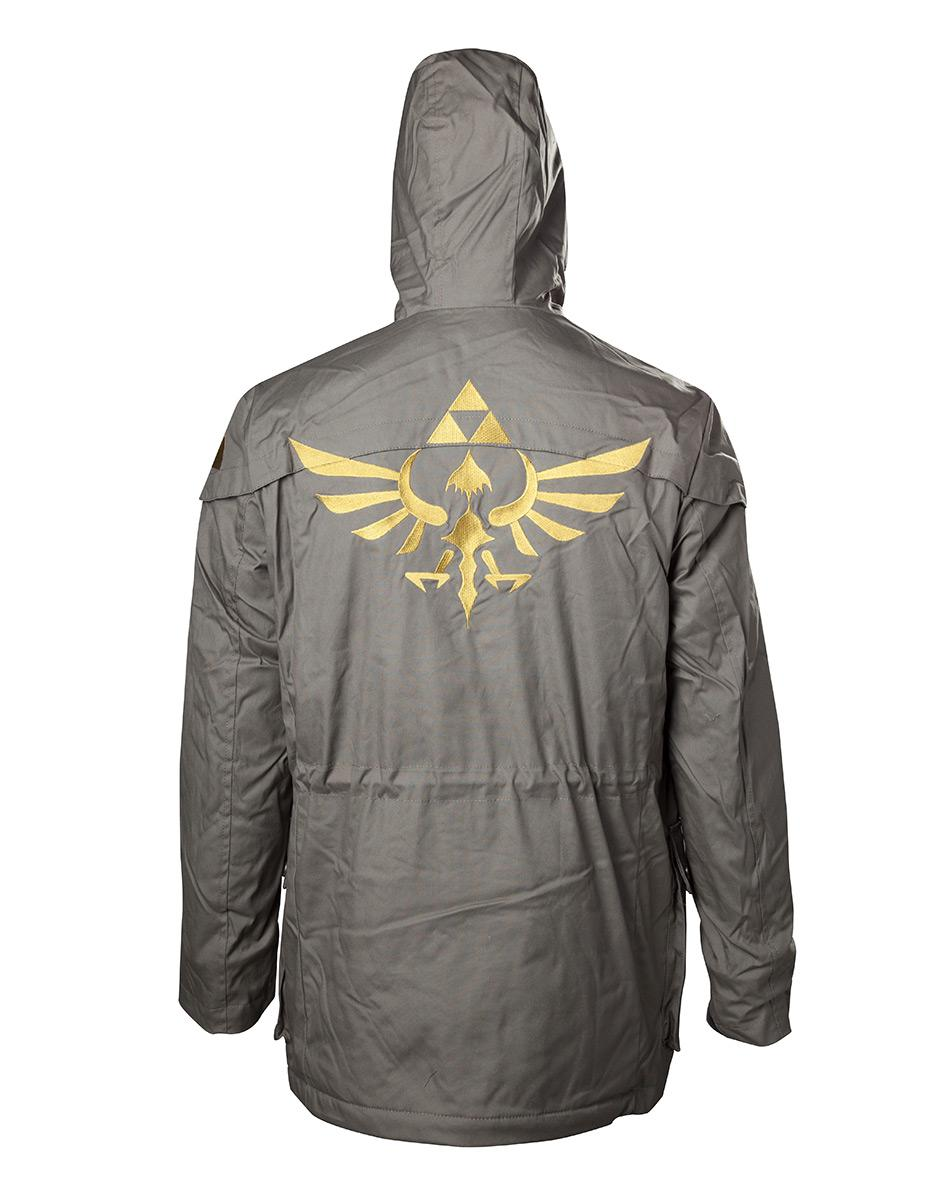 ZELDA - Parka with Golden Logo (M)