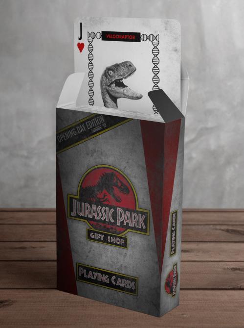 JURASSIC PARK - Jeu de cartes exclusif