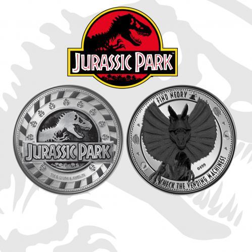 JURASSIC PARK - Find Nedry - Pièce de collection édition limitée