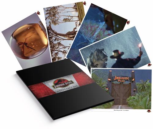 JURASSIC PARK - Pack de 5 lithographies édition limitée