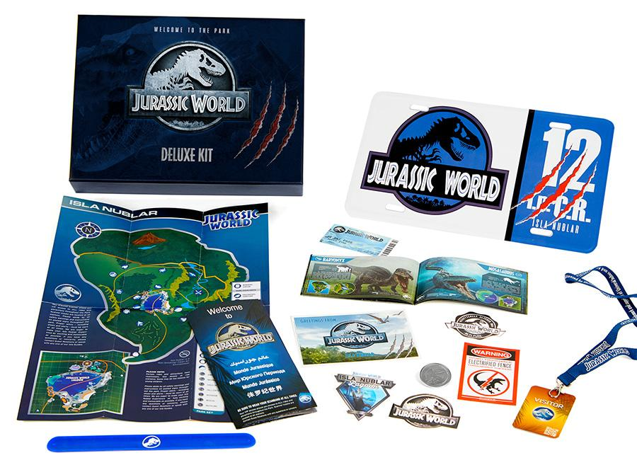 JURASSIC WORLD - Coffret Cadeau Deluxe - Welcome to the Park