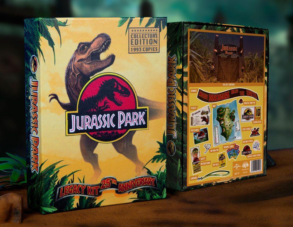 JURASSIC PARK -  Coffret Cadeau Legacy Kit 25th Anniversary