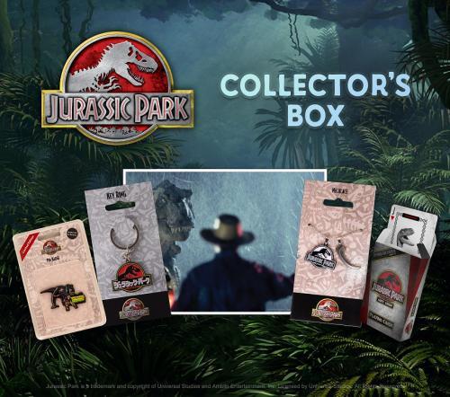 JURASSIC PARK - Collector box