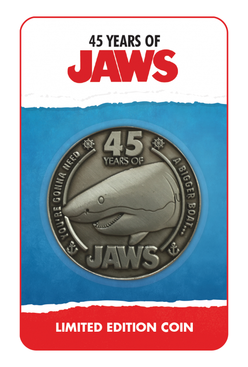 JAWS - 45th Anniversary - Pièce de collection édition limitée