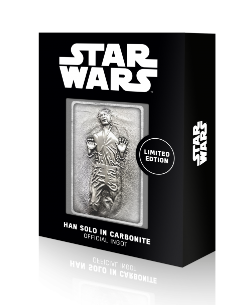 STAR WARS - Han Solo in Carbonite - Lingot en métal collector