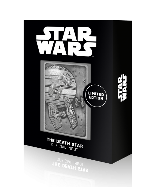 STAR WARS - Death Star Scene - Lingot en métal collector