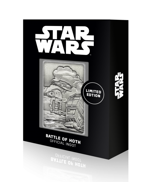 STAR WARS - Hoth Planet Scene - Lingot en métal collector