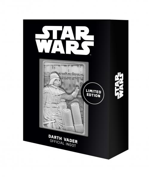 STAR WARS - Darth Vader Bespin Scene - Lingot en métal collector