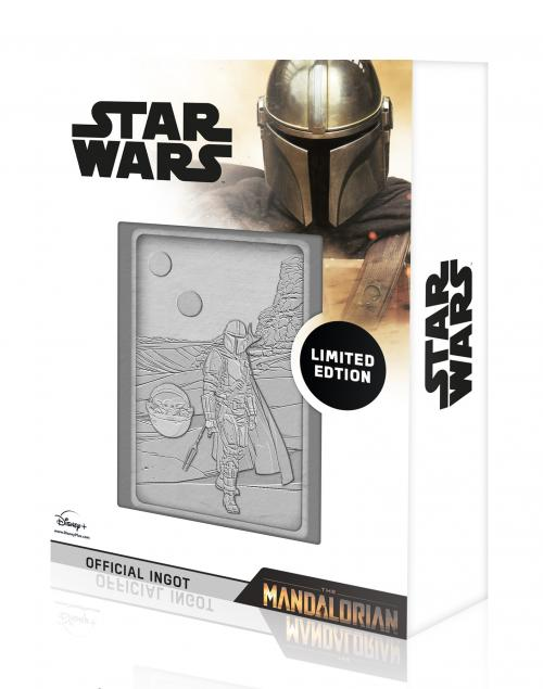 STAR WARS - Mandalorian & The Child - Lingot en métal collector