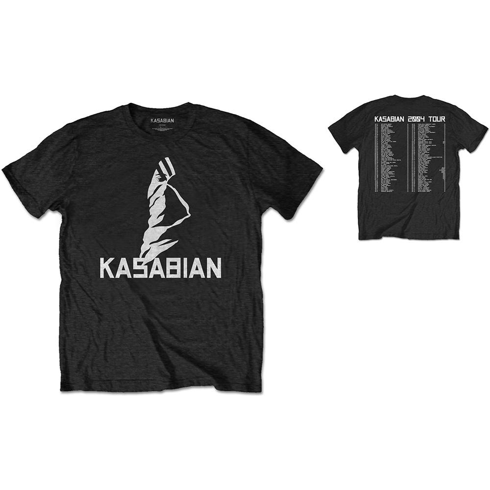 KASABIAN - T-Shirt RWC - Ultra Face 2004 Tour (L)