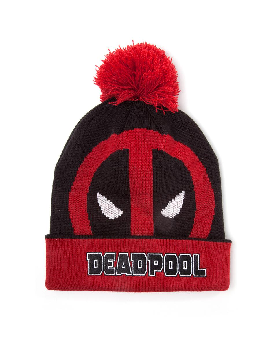 DEADPOOL - Bonnet - Roll Up With Pompom