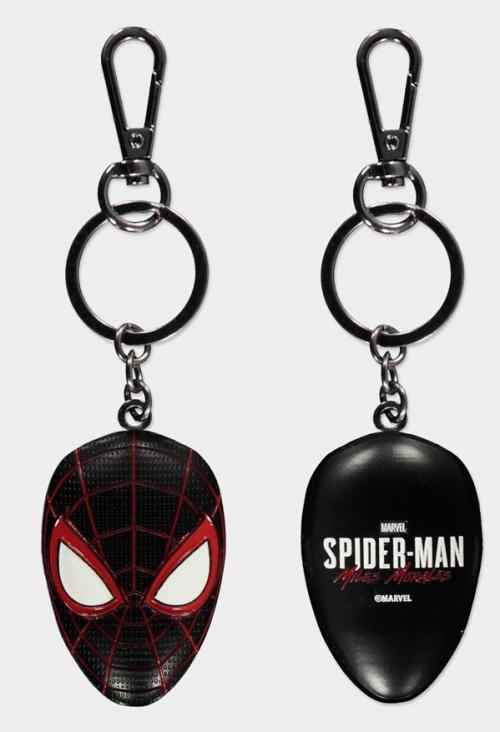 SPIDER-MAN - Miles Morales - Porte-clés 3D en métal
