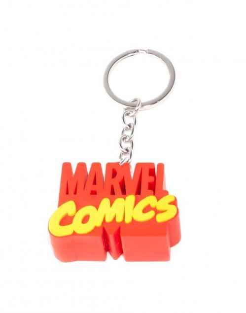 MARVEL Comics - 3D Metal Keychain - 3D Logo