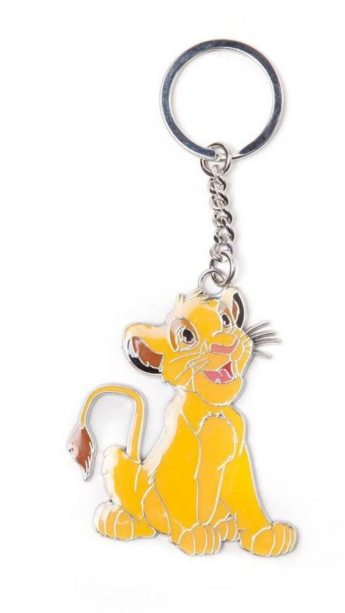 DISNEY - Le Roi Lion - Simba - Porte-Clés en Métal