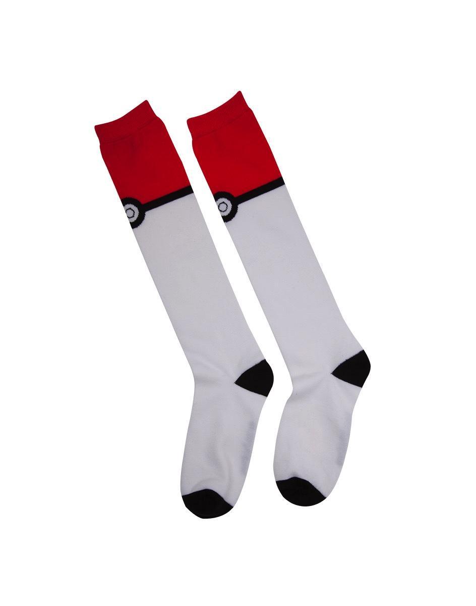 NINTENDO - POKEMON Pokeball Knee High Sock