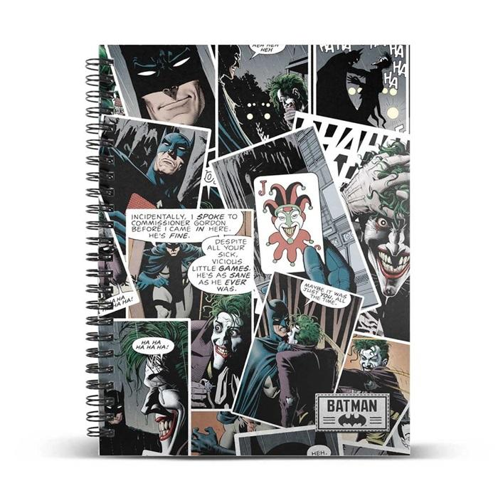 THE JOKER - Comic - Cahier A4_1