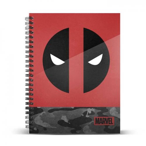 MARVEL - Deadpool Rebel - Cahier A4