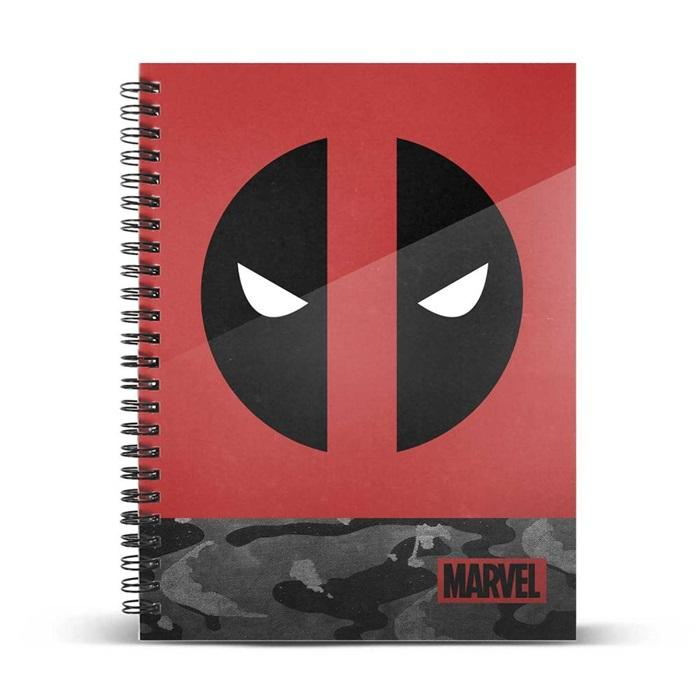 MARVEL - Deadpool Rebel - Cahier A5_1