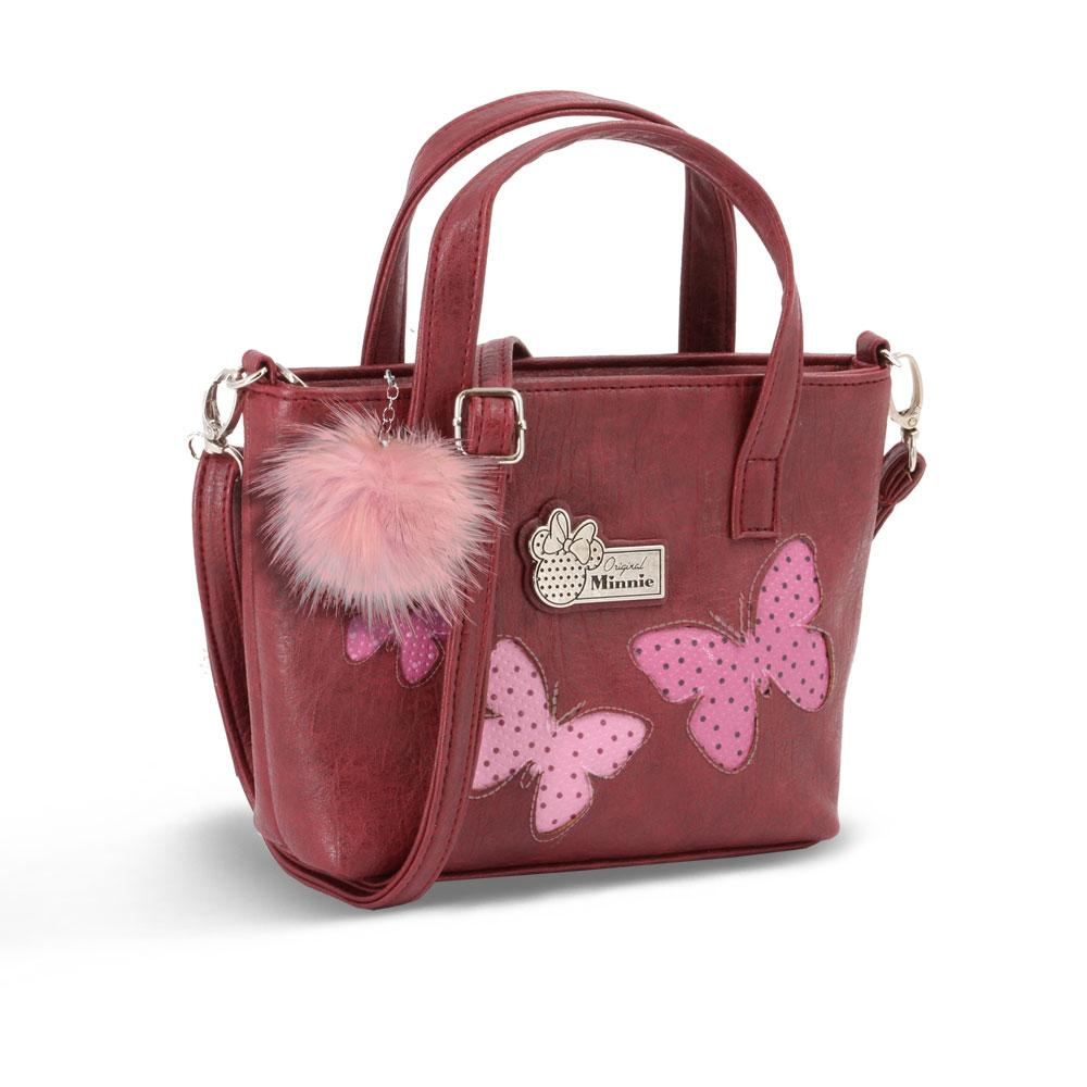 DISNEY - MINNIE Sac à Main Tote Small Marfly - Bordeaux