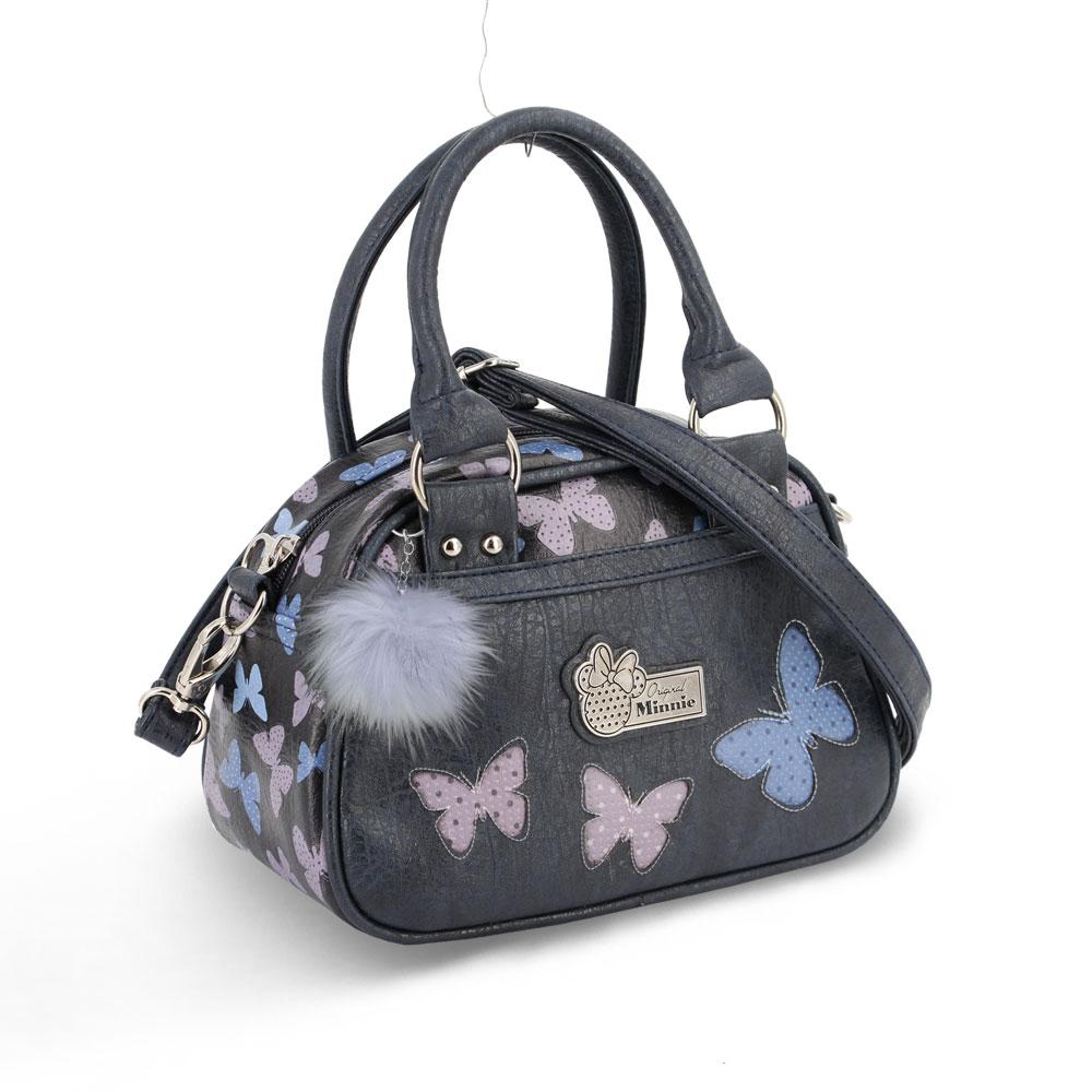 DISNEY - MINNIE Sac à Main Bowling Fashion Blufy - Bleu