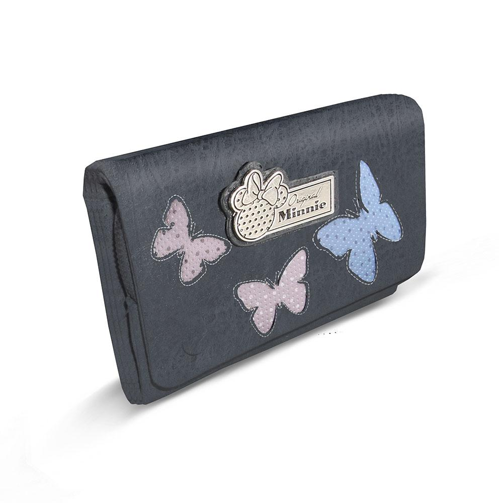 DISNEY - MINNIE Portefeuille Sweet Long Blufy - Bleu