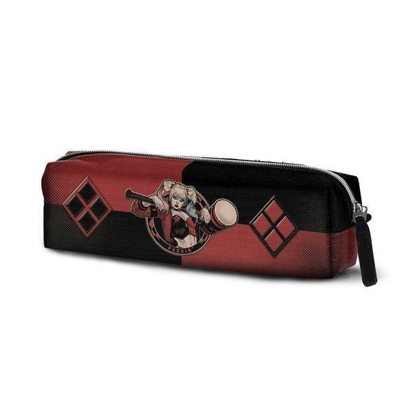 HARLEY QUINN - Square Pencil Case Puddin '6x22x5'