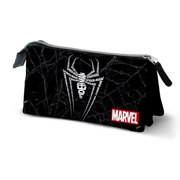 SPIDERMAN - Triple Pencil Case '10x23x5'